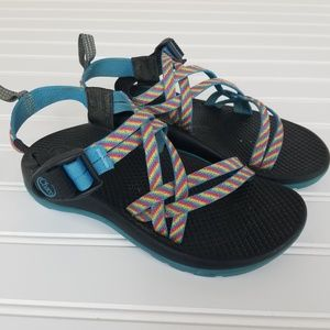 Chaco Kids Size 2 Rainbow Sandals